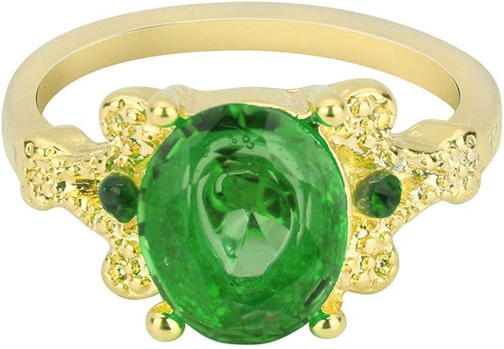 Fashion Femmes Mariée Cristal Plaqué Or Rose Tressé Ring Band Bijoux 7//8 US