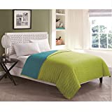 VCNY Home Ryder Reversible Quilt, Full, Turquiose