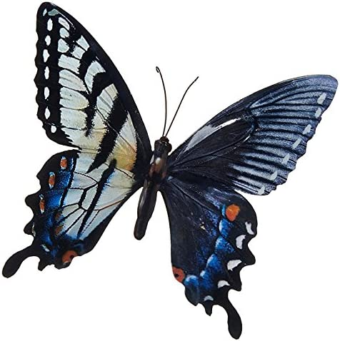 Garden Wall Art Decorative 3 Coloured Outdoor Large Metal Butterfly BESTonZON Butterflies