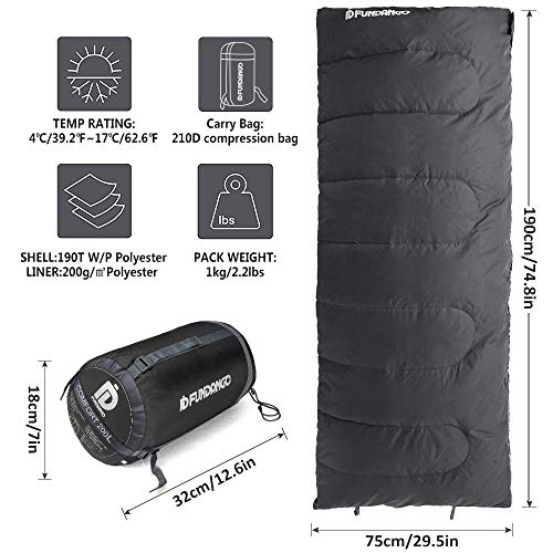 FUNDANGO Lightweight Sleeping Bag