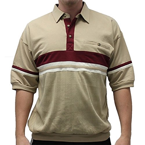 Classics by Palmland French Terry Banded Bottom Shirt - 6090-622J (XLARGE, (Terry Banded Bottom Shirt)