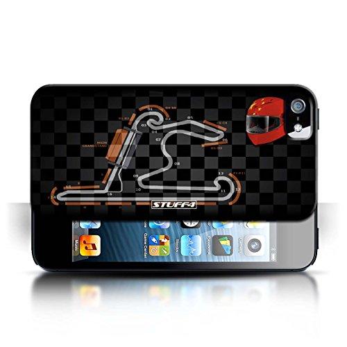 Etui / Coque pour Apple iPhone 5/5S / Chine/Shanghai conception / Collection de 2014 F1 Piste
