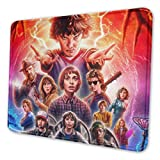 Stranger Things Mouse Pad with Stitched Edge Premium-Textured Mouse Mat Non-Slip Rubber Base Mousepad for Laptop Computer & PC 11.81 X 9.84 X 0.12 inches