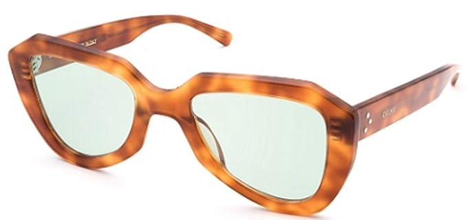 Celine - Gafas de sol - para mujer Marrón Tartaruga Miele ...