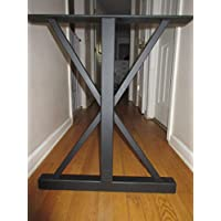 Metal Table Base,Trestle Style,Handmade In U.S.