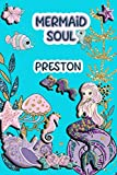 Mermaid Soul Preston: Wide Ruled   Composition Book   Diary   Lined Journal