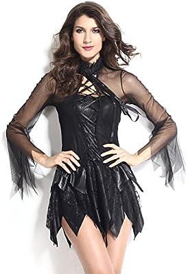 Sexy ángel de la oscuridad Mini vestido disfraz despedida de ...