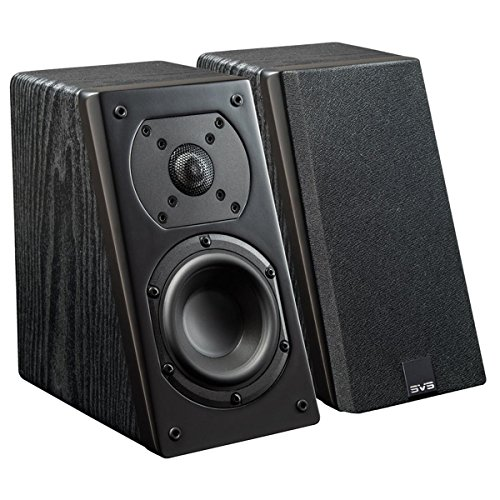 SVS Prime Elevation Speakers – Pair (Black Ash)