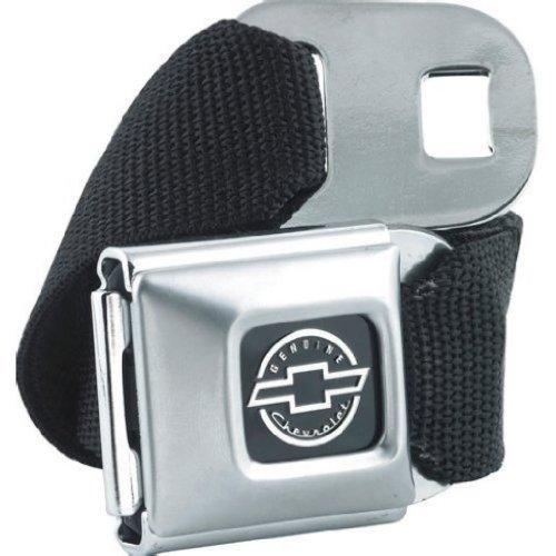 Chevrolet Seat Belt Style Canvas Web Belt and Buckle - Buckle Down Belt Buckles