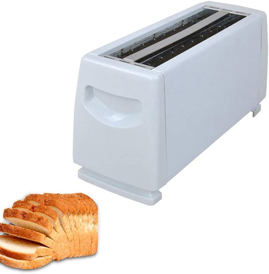 Electric Bread Toaster for Home ZRSA 4 Slots Stainless Steel Automatic 1150W Electric Bread Baking Machine Kitchen Tool Stainless Steel Multifunctional Breakfast Machine
