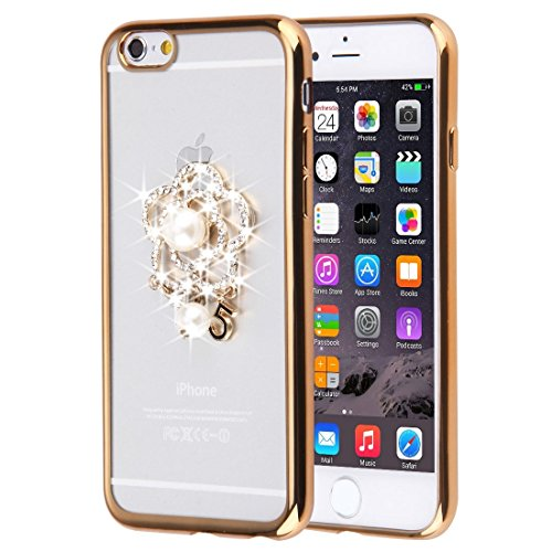 Phone Taschen & Schalen Für iPhone 6 Plus & 6s Plus Diamond verkrustete Schmetterling Muster Soft TPU Fall ( SKU : IP6P0087B )