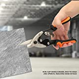 4PCs Aviation Snips Sheet Metal Shear Stud