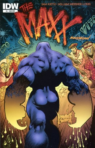Read Online The Maxx: Maxximized #4 Subscription Variant PDF