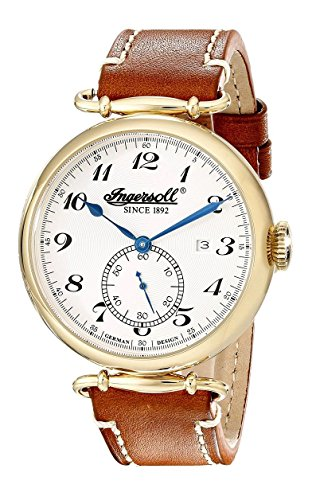 Ingersoll Men's IN1315GSL Lone Star Analog Display Automatic Self Wind Brown Watch