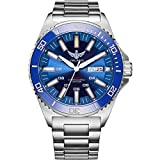 tritium Watch, Automatic Watches for Men Yelang Dive meachnical Wrist Watch T100 H3