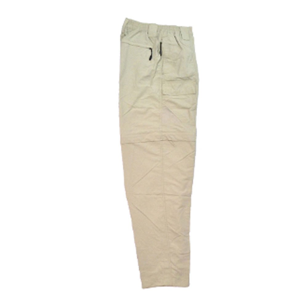 Bimini Bay Outfitters Men's Grand Cayman Zip-Off Nylon Pants 61670 Fossil L