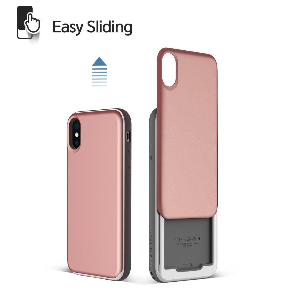 Amazon.com: iPhone X Case, DesignSkin [Slider] [Sliding Card ...