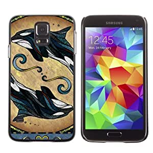 Designer Depo Hard Protection Case for Samsung Galaxy S5 / Cute Mice