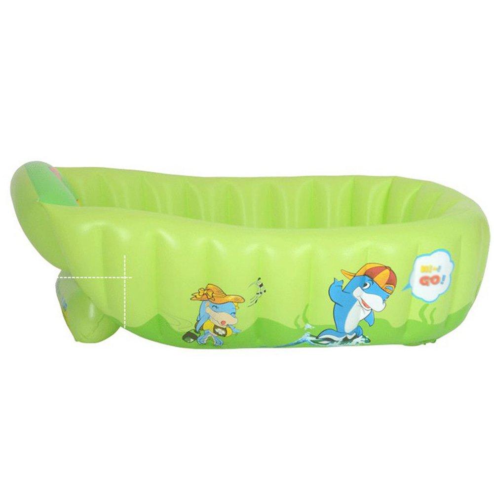elegantstunning Children's Inflatable Tub Bathing Tool Portable