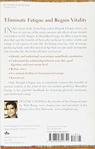 Boundless Energy: The Complete Mind/Body Program for Overcoming ...