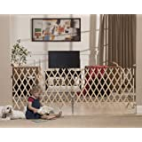 Amazon Com Expanding Wooden Fence Outdoor Decorative