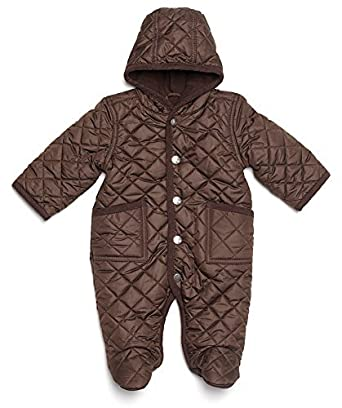 Amazon.com: Leveret Quilted Barn Baby Snowsuit (bunting, Pram ... : quilted baby bunting - Adamdwight.com