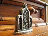 Guardian Angel of One Having Surgery, Handmade Pewter Triptych