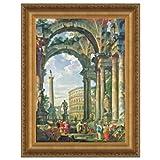 Design Toscano Roman Capriccio, 1735 Canvas Replica Painting: Large