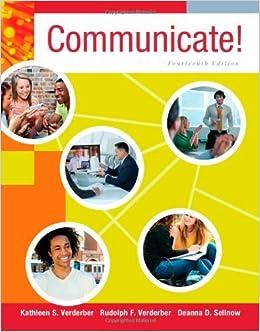 Book Communicate! by Kathleen S. Verderber (2013-01-01)