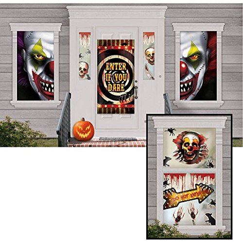 Creepy Carnival Scene Setters | Mega Value | Halloween Decorating Kit