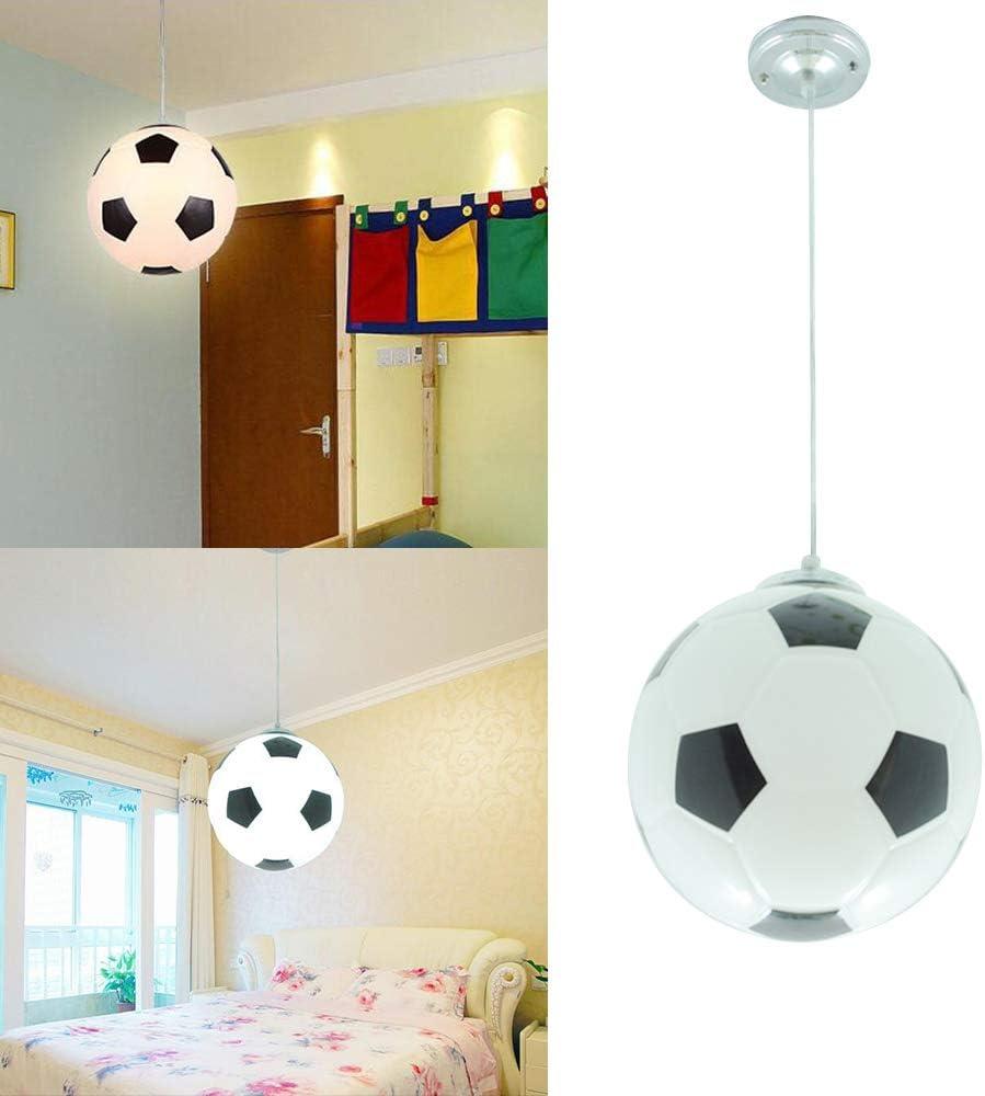 Wankd - Lámpara de techo para habitación infantil, diseño de balón ...