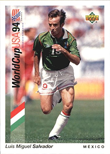 1993 Upper Deck World Cup 94 Preview English/Spanish #46 Luis Miguel Salvador