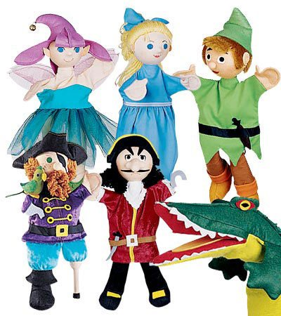 Hand Wizard Of Puppets Oz (Peter Pan Costumed Puppets Special, Set of 6)