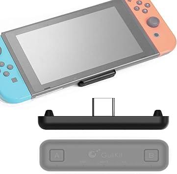sutefoto Route Air Bluetooth Adaptador Compatible para Nintendo Switch/Switch Lite PS4 PC, Transmisor de Audio Inalámbrico Bluetooth de Doble Flujo con Baja Latencia AptX: Amazon.es: Electrónica