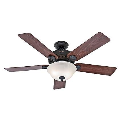 Hunter 53250 Prou0027s Best 52 Inch 5 Blade Single Light Five Minute Ceiling Fan