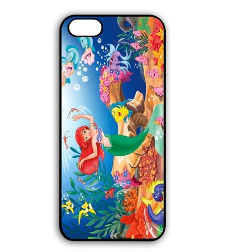 Coque,the Little Mermaid 2 Return To The Sea Design Case Cover Cover for Coque iphone 6 4.7 pouce Back Skin With Best Plastic - Cute Coque iphone 6 Phone Case Cover for Gift
