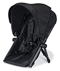 The second child seat allows you to easily convert the B READY from a single stroller to an in line double, and features 4 recline positions, built in suspension, padded 5 point harness system and canopy with full coverage and ventilation win...