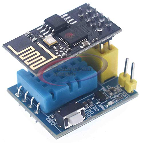 Price comparison product image ESP8266 ESP-01 ESP-01S WiFi DHT11 Temperature Humidity Sensor Meter Module Wireless Thermometer for NodeMCU Smart Home IOT 12V (DHT11 with ESP-01S)