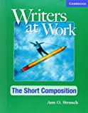 Writers at Work, Ann O. Strauch, 0521544963