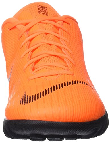 Nike Vaporx 12 Academy TF, Botas de Fútbol para Hombre Multicolor (Total Orange / Black 810)
