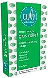 Wellness Basics Extra Strength Gas Relief Simethicone 125mg Soft Gel, 30 Count