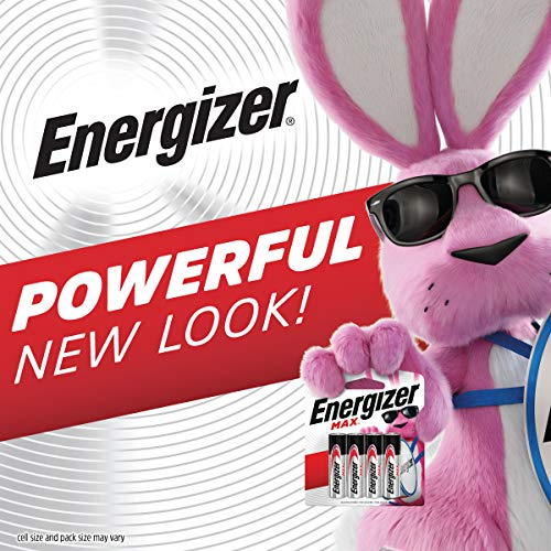 Energizer AAA Batteries (24 Count), Triple A Max Alkaline Battery - Packaging May Vary