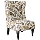 HOMES: Inside + Out IDF-AC6182B Ajax Chair Contemporary, Floral