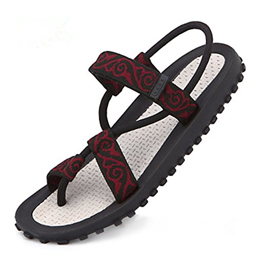 Unisex Sports 3 Sandals Style Leisure Shoes Junsi Toe skid Outdoor Beach Slippers Clip Anti 6dWZxBqU