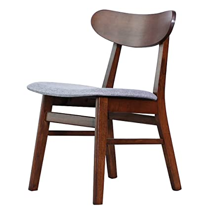 Amazon.com: Desk Chairs Chair Chinese Style Solid Wood Chair Office ...