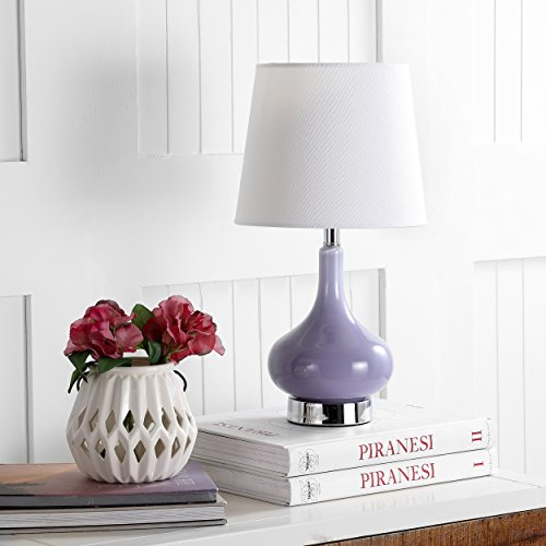 Safavieh Kids Lighting Collection Amy Purple Mini Table Lamp (Kohls Lamps Table)