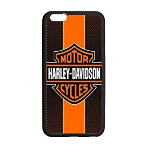 iPhone6 Plus Stripes Harley Davidson HD Pic Case Cover for iPhone6 Plus 5.5 (Laser Technology)