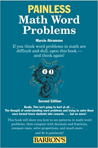 Painless Math Word Problems (Painless Series): Marcie Abramson Ed.M ...
