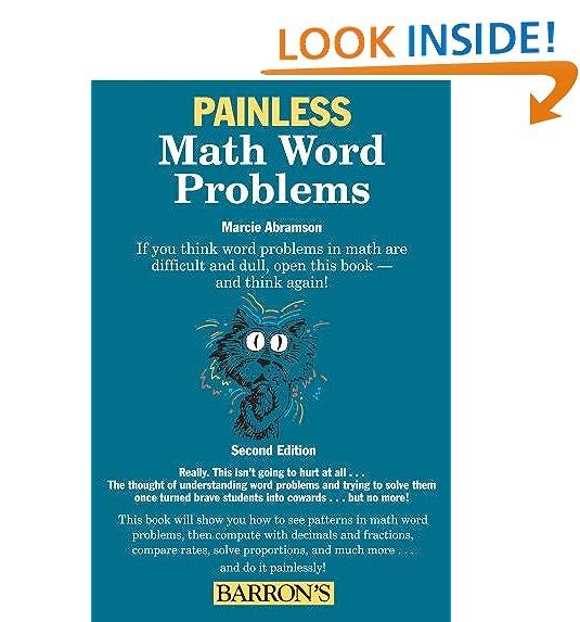 Math Word Problems: Amazon.com
