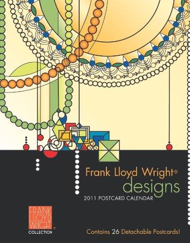 Frank Lloyd Wright Designs 2011 Postcard Calendar